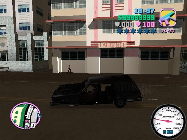 взрыв - Grand Theft Auto: Vice City ездить, машине