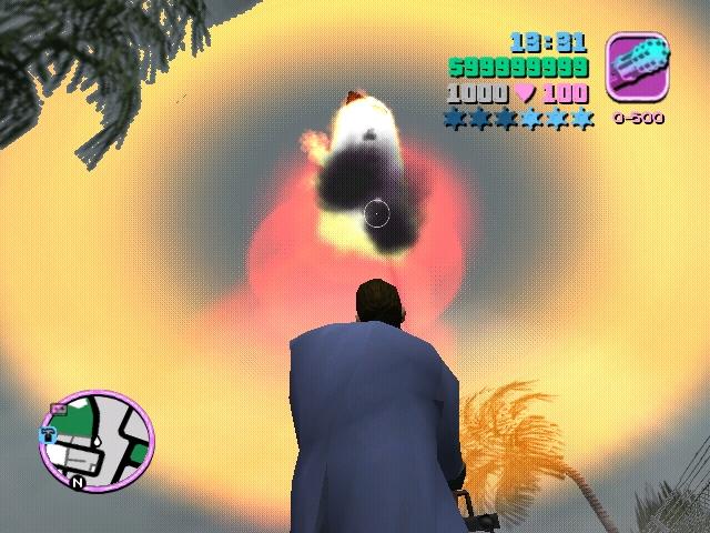 взрыв - Grand Theft Auto: Vice City