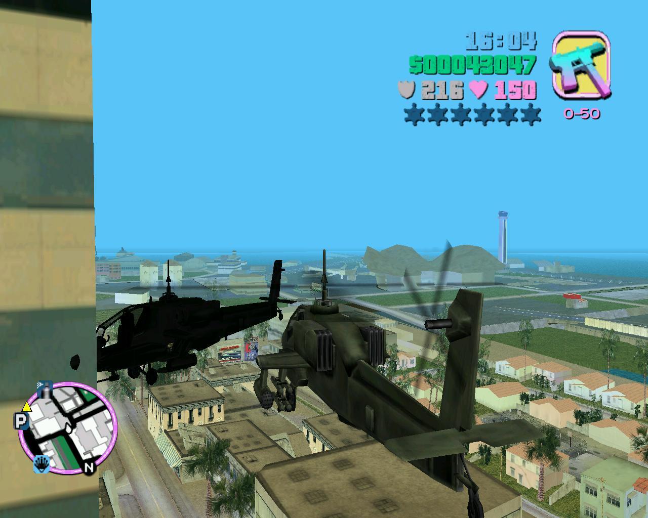 Застрял - Grand Theft Auto: Vice City