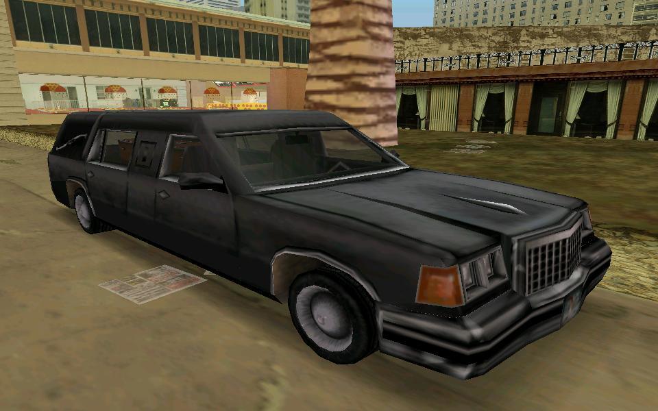 uc2 Romero's Hearse - Grand Theft Auto: Vice City