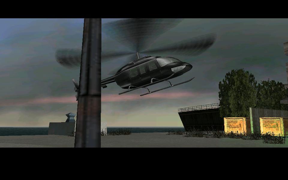 Чёрный Maverick - Grand Theft Auto: Vice City