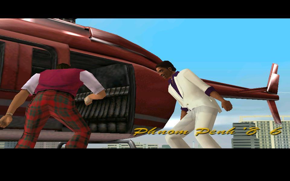 Maverick с раздвижной дверью - Grand Theft Auto: Vice City