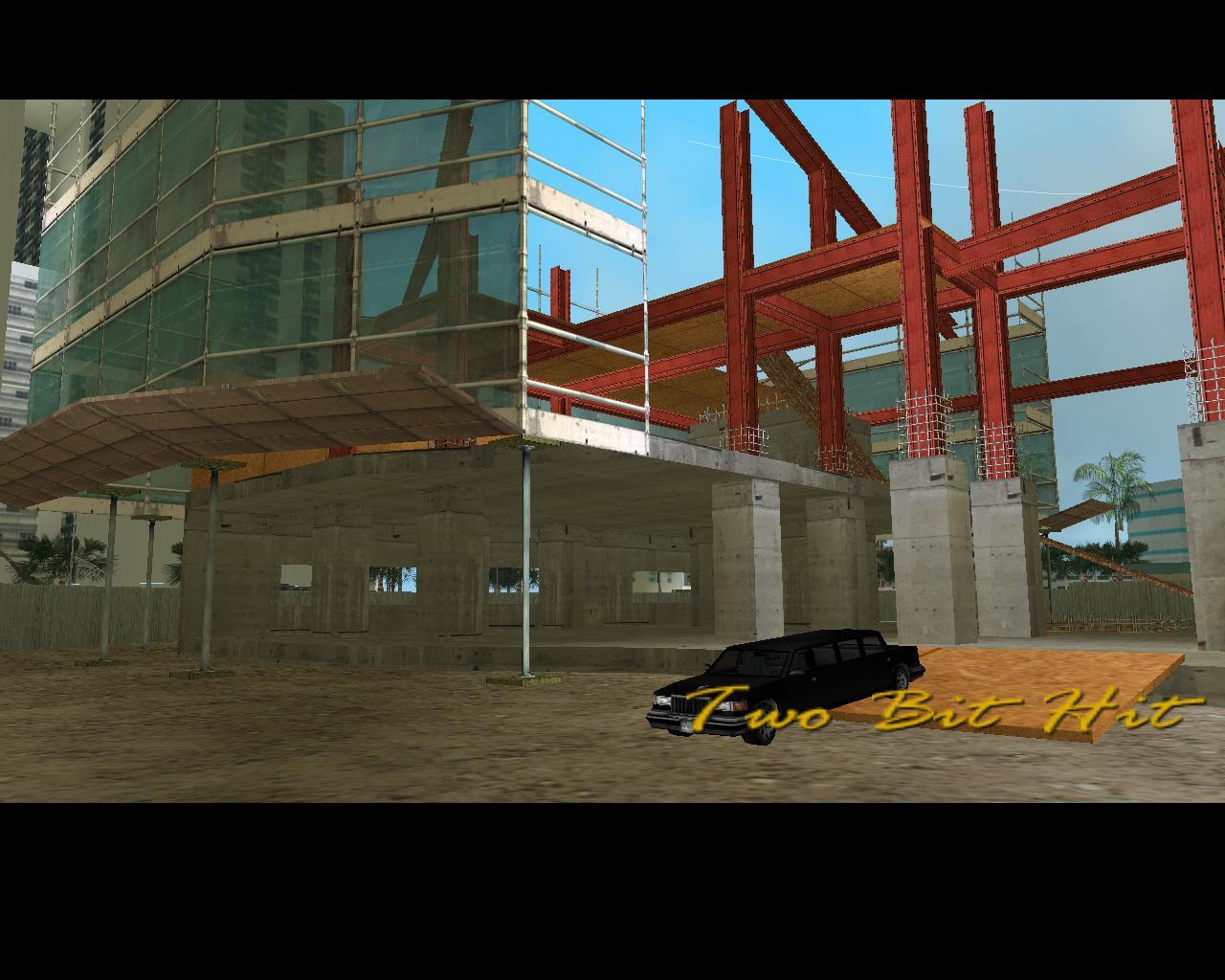 Чёрный Stretch - Grand Theft Auto: Vice City