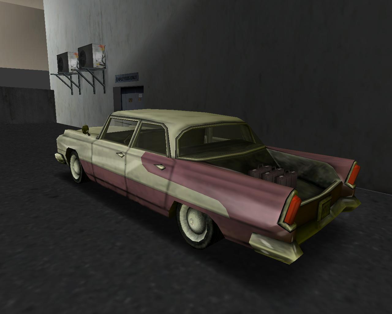 Oceanic с ящиками - Grand Theft Auto: Vice City