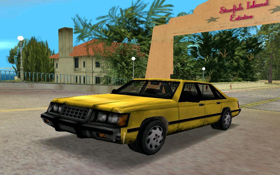 NE Taxi - Grand Theft Auto: Vice City