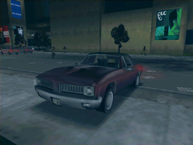 LD Stallion - Grand Theft Auto 3