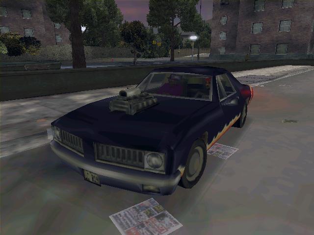 Diablo Stallion - Grand Theft Auto 3