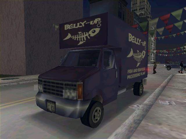 Triad Fish Van - Grand Theft Auto 3