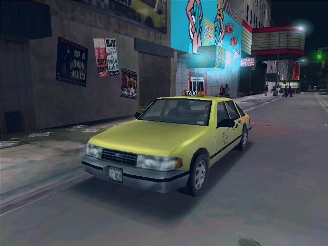 Taxi - Grand Theft Auto 3