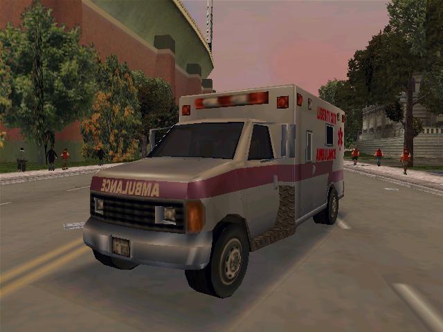 Ambulance - Grand Theft Auto 3