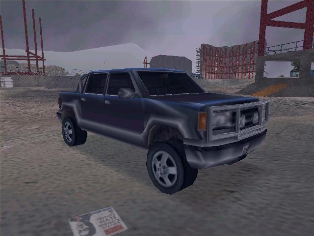 Cartel Cruiser - Grand Theft Auto 3