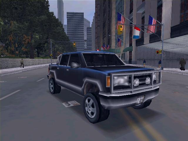 Cartel Cruiser - Grand Theft Auto 3