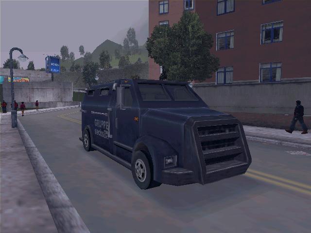 Securicar - Grand Theft Auto 3