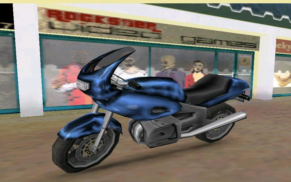 UC PCJ 600 - Grand Theft Auto: Vice City