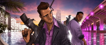 Vice City Mini [Работа Патрика Брауна] - Grand Theft Auto: Vice City Арт, Патрик Браун