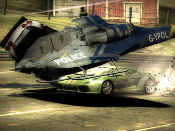 в need for speed не улетает вертолет