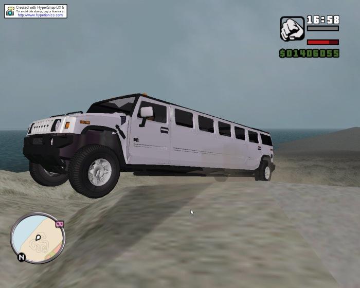 4x4 stretch - Grand Theft Auto: Vice City хаммер