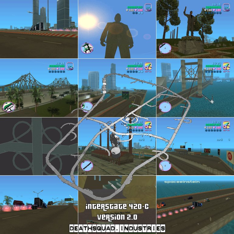 Interstate 420 - Grand Theft Auto: Vice City