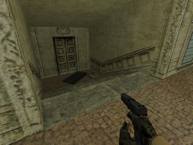 aim_glock_HQ; щит внизу можно подобрать - Counter-Strike