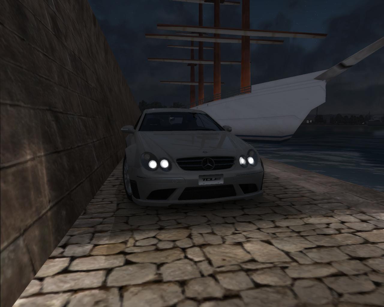 Mercedes-Benz CLK 63 AMG Black Series - Test Drive Unlimited 2 Mercedes-Benz CLK 63 AMG Black Series