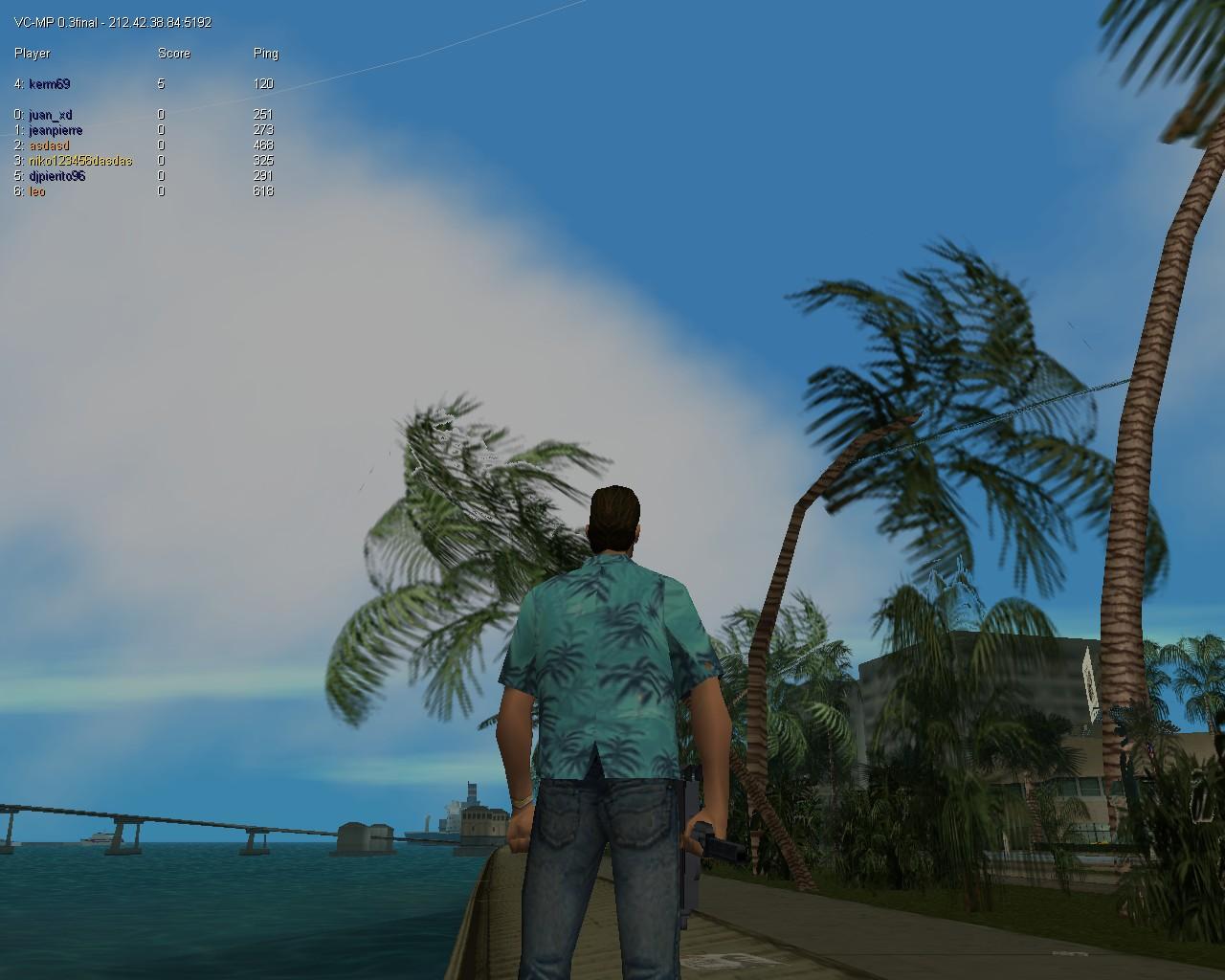 Игроки на сервере где-то в 04:00 AM - Grand Theft Auto: Vice City
