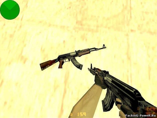 КС 1.6 АК-47 - Counter-Strike