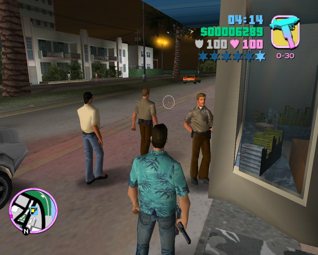 Менты-пофигисты - Grand Theft Auto: Vice City