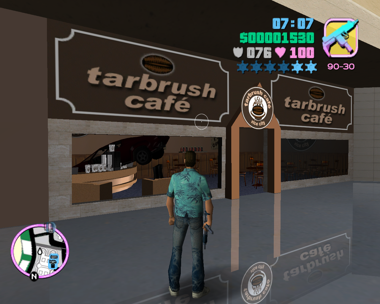 Доездился - Grand Theft Auto: Vice City