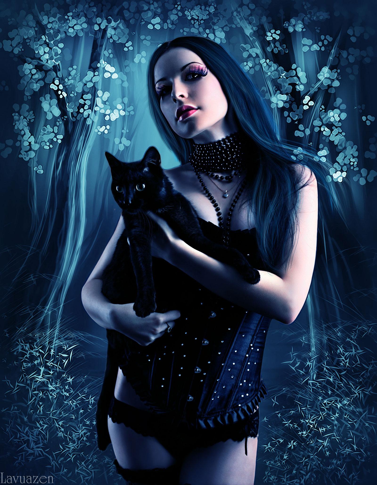 ведьма с кошкой фото подступенки, балясины другие
