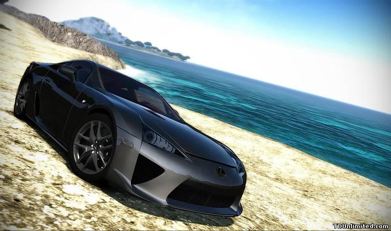 Lexus LF-A 2010 - Test Drive Unlimited 2 Lexus, LF-A