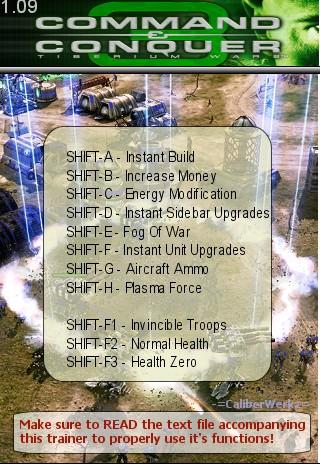 Скачать трейнер на command conquer 3 tiberium wars