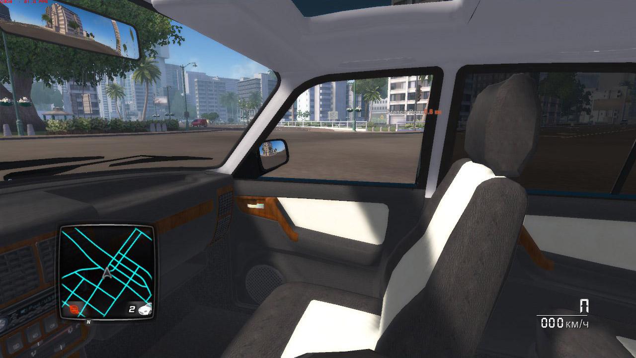 ГАЗ-3102 ВОЛГА - Test Drive Unlimited 2 ГАЗ-3102 Волга