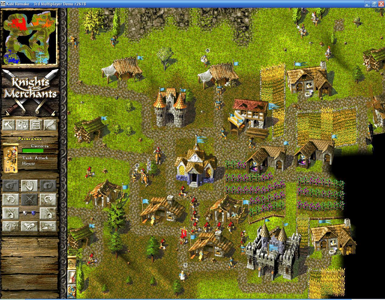 добивание голубого поляка.JPG - Knights & Merchants: The Peasants Rebellion