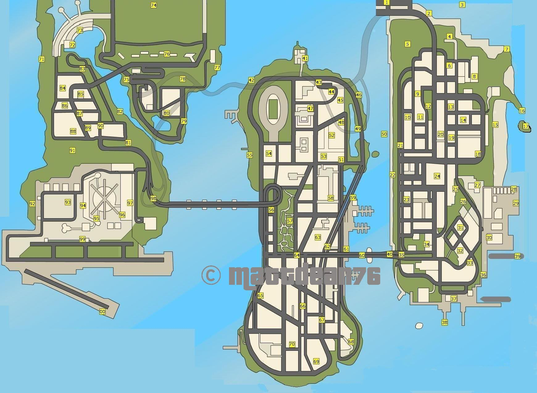 hidden packages - Grand Theft Auto: Liberty City Stories