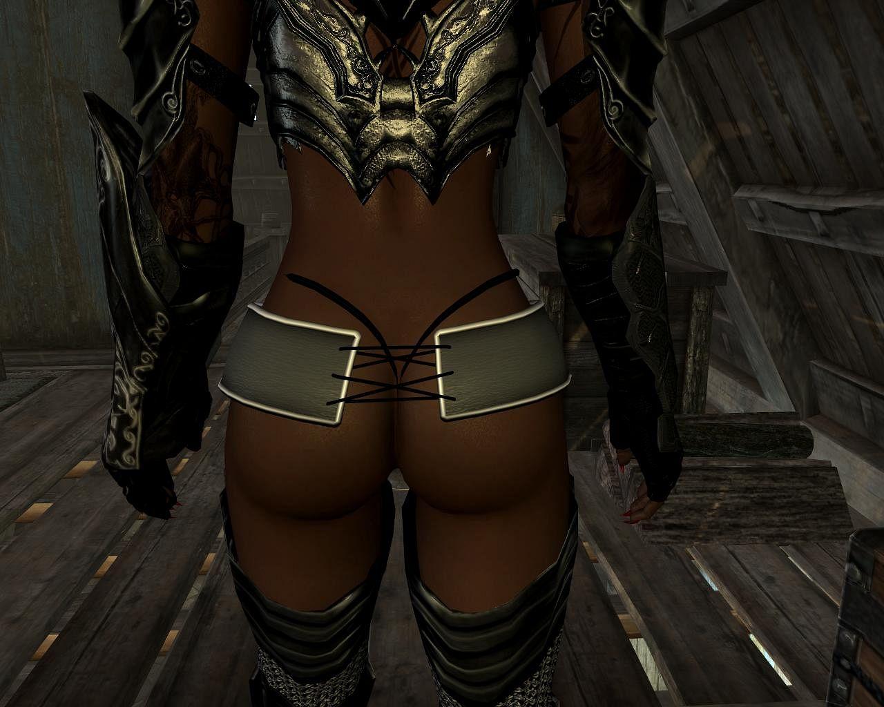 Skyrim-Karlstein armor UNP HDT