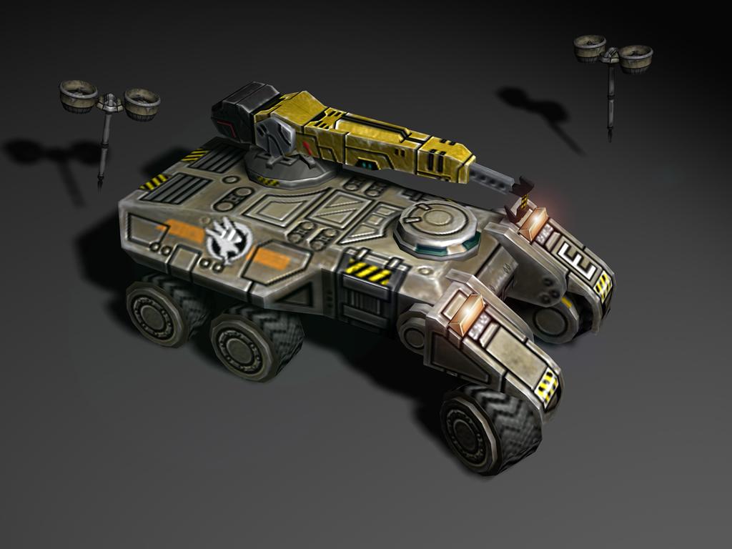 В этой галерее собраны почти все юниты Братства и ГСБ - Command & Conquer 3: Tiberium Wars HKG