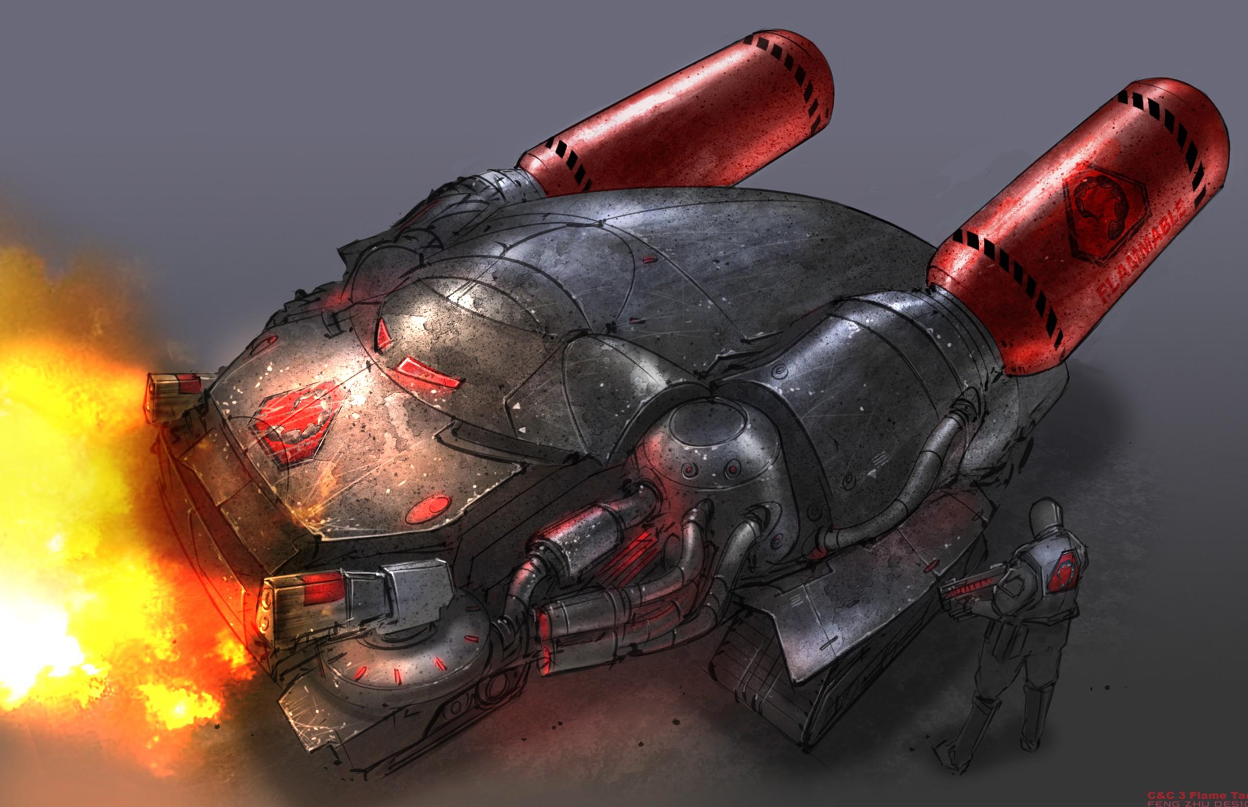 В этой галерее собраны почти все юниты Братства и ГСБ - Command & Conquer 3: Tiberium Wars FTN