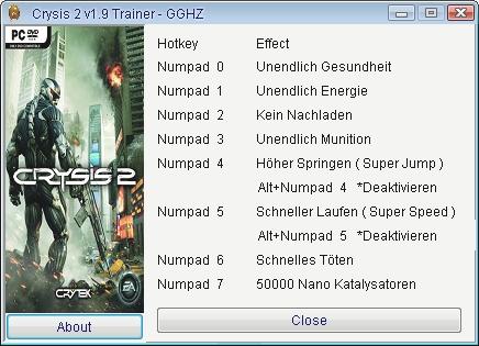 Скачать На Crysis 2 Трейнер img-1