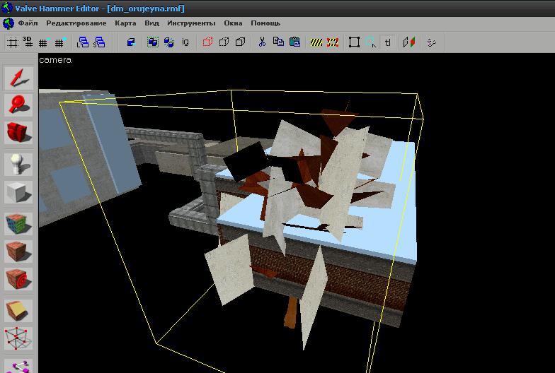 Баг 3D-окошка Хаммера - Counter-Strike