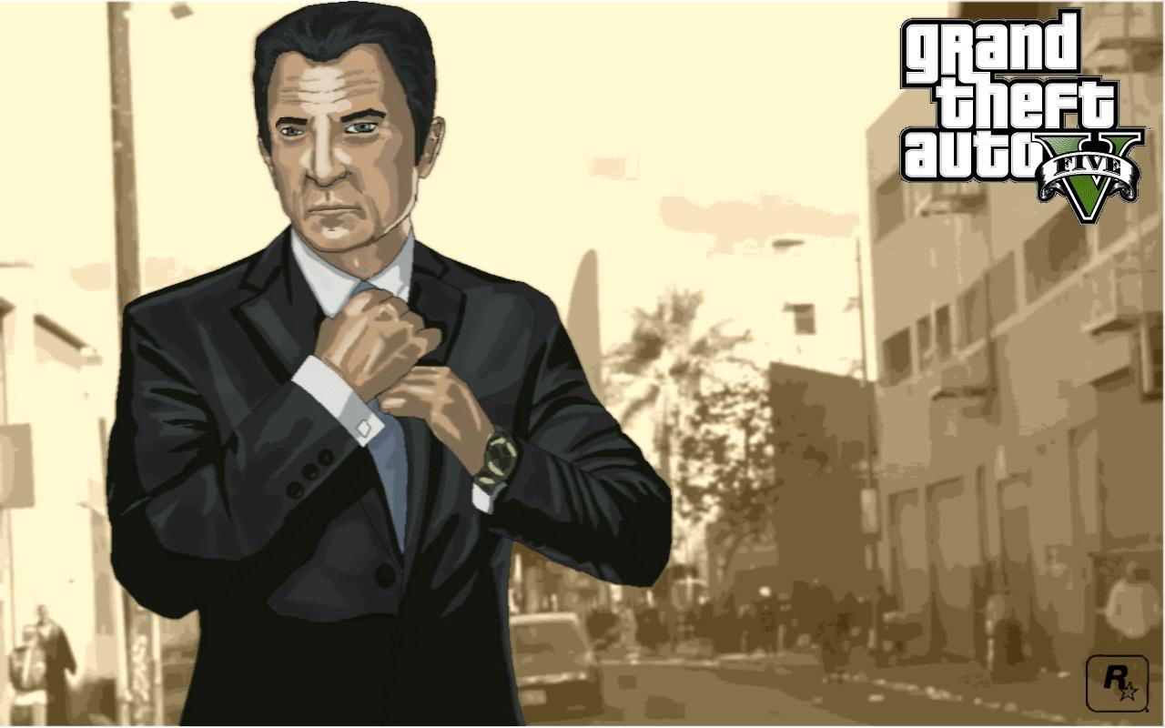 GTA 5 Art - Grand Theft Auto 5 Арт