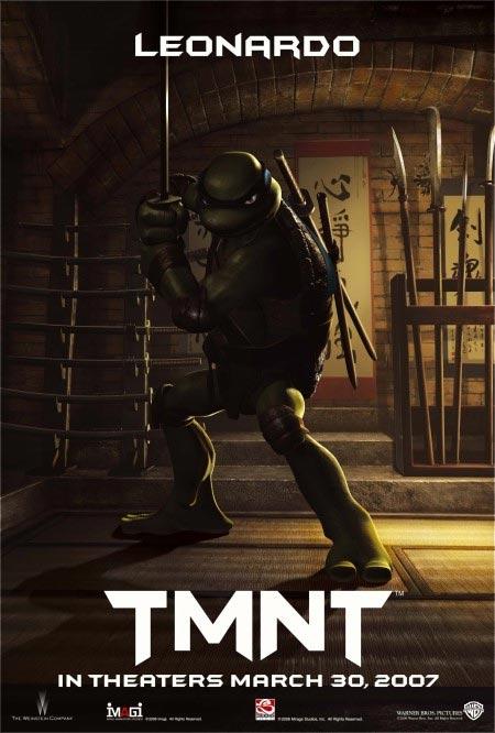Лео - Teenage Mutant Ninja Turtles: Video Game