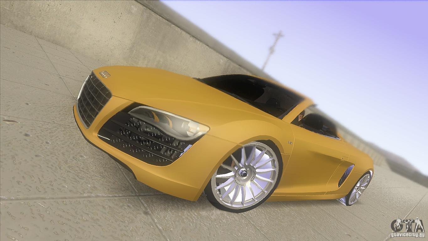Audi R8 5.2 FSI Spider - Grand Theft Auto: San Andreas