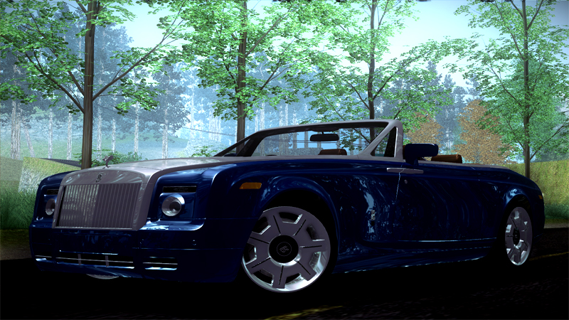 Rolls Royce Phantom Drophead Coupe 2007 - Grand Theft Auto: San Andreas