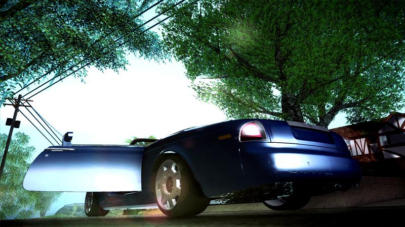 Rolls Royce Phantom Drophead Coupe 2007 - Grand Theft Auto: San Andreas