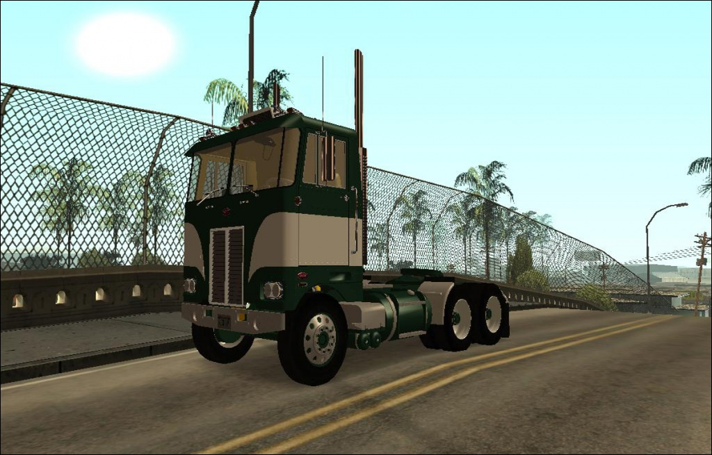 1978 Peterbilt Daycab Cabover - Grand Theft Auto: San Andreas