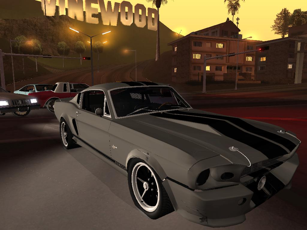 Shelby GT500 Eleanora - Grand Theft Auto: San Andreas