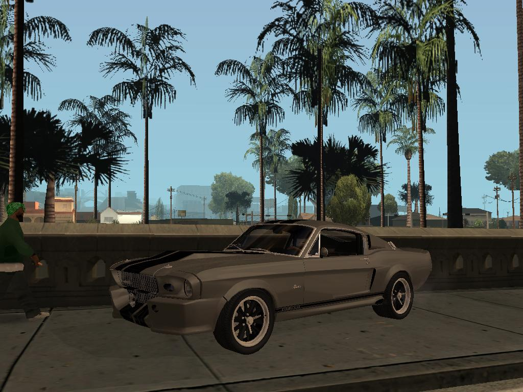 Shelby GT500 Eleanora - Grand Theft Auto: San Andreas
