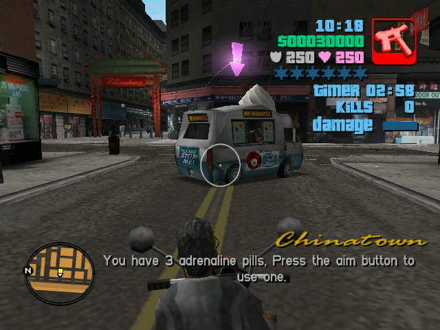 Сборише всякой джигурды, которую я люблю создавать различными глюками из-за клео скриптов. - Grand Theft Auto: San Andreas