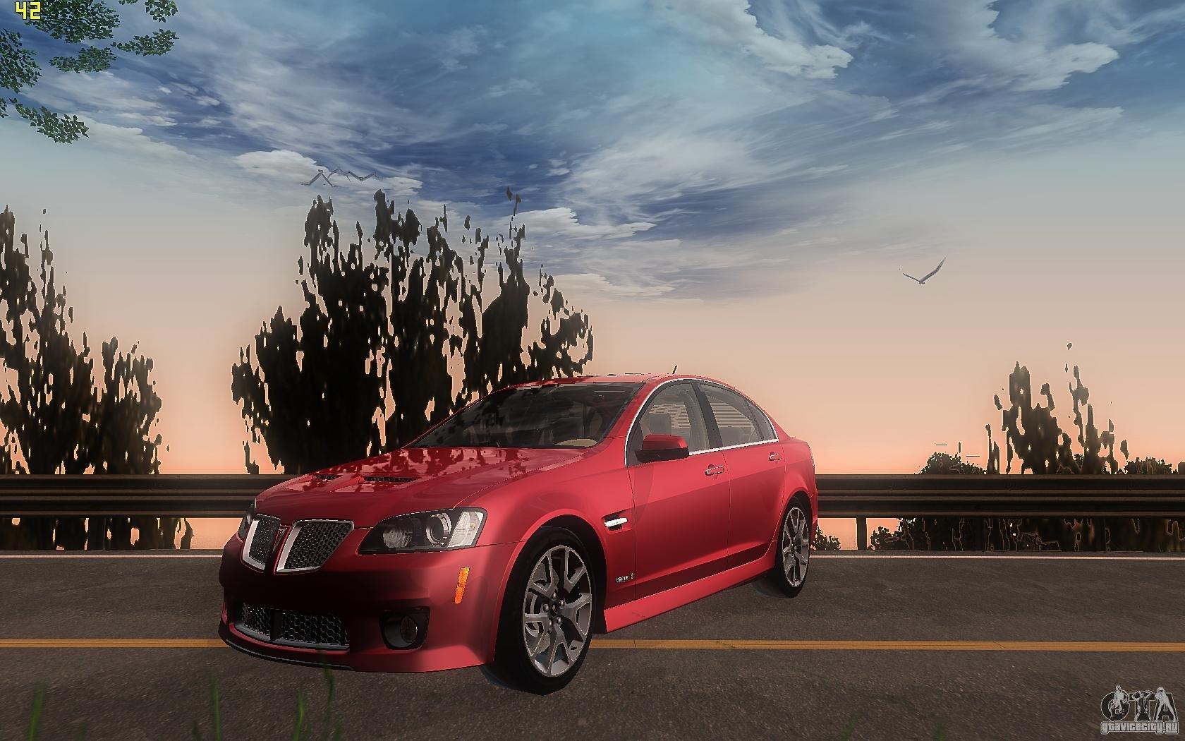 Pontiac G8 GXP - Grand Theft Auto: San Andreas