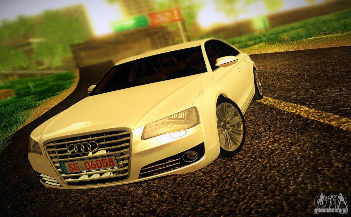 Audi A8 2010 - Grand Theft Auto: San Andreas